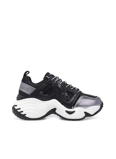 Emporio Armani  Sneaker Ayakkabı Kadın Ayakkabı S X3X099 Xm583 R122 Siyah